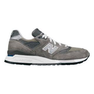 Mens New Balance M 998 GR Classic Running Shoe Grey