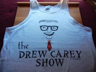 Drew Carey Show Tank Top The Price Is Right CBS Warner Bros Size XL