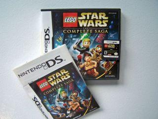 LEGO STAR WARS THE COMPLETE SAGA DS DSi LITE 3DS LEGOE LAGO USA
