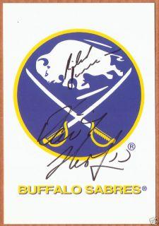 Dominik Hasek Buffalo Sabres Authentic Autographed Large Postcard NHL