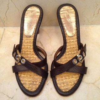 Dolce and Gabbana Strappy Sandals Heels 35