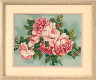 Dimensions Paintworks Paint by Number Kit 14 x 11 Heirloom Roses