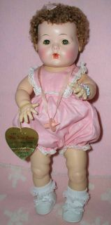 Effanbee F B Mold 3 DY Dee Dydee Baby Doll in Display Box