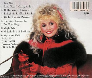 Dolly Parton Home for Christmas CD 074644679625