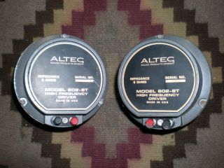 Altec 802 8T Drivers Pair Vintage Audio Theatre Studio