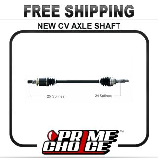 New Complete CV Joint Axle Shaft Assembly for Rear Driver or Passenger
