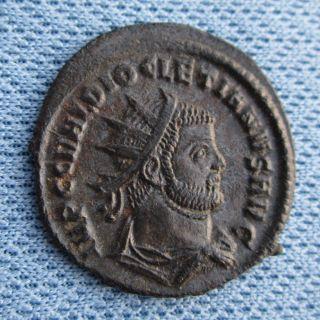 Ancient Rome  Diocletian Antoninianus Choice EF XF RIC V II 306