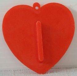 Hallmark Valentine Heart Love Ya Cookie Cutter Plastic