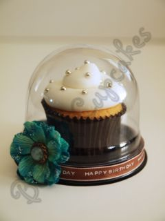 100 Dome Cupcake Cake Shower Party Favor Box Container