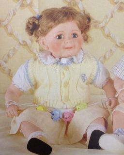 Lorelei 24in Porcelain Toddler Doll Duck House Retired