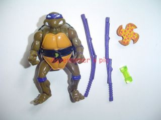 Turtles TMNT 1992 Mutatin Don Donatello C Complete Aside Fr