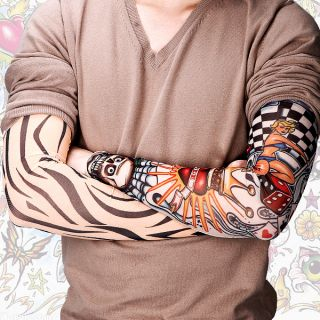 Manga de Tatuaje Tattoo Postiza Sin Pinchazo Ni Dolor