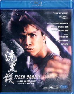 Tiger Cage II Blu Ray Rosamund Kwan Donnie Yen