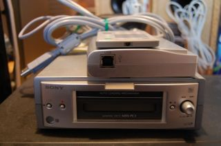Sony MDS PC3 with PCLK MN10 Mini disc player recorder with PC link