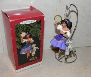 Disney Hallmark Esmeralda and Djali The Hunchback of Notre Dame