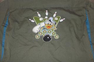 Disney Donald Duck Strike Bowling Shirt L 50