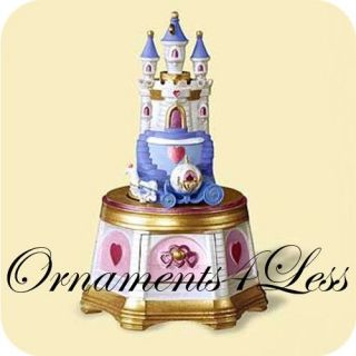 Ornament 2006 Treasures and Dreams 5 Jewelry Box Castle QX2546