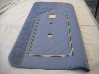 AMC NOS Blue Passenger Side Door Panel Gremlin Spirit Kammback Eagle 2