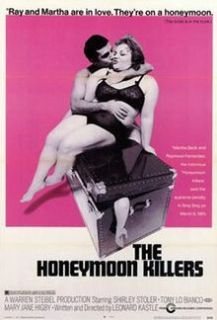 Unique Honeymoon Killers Orig 1970 Release Rolled 1 Sheet NM w Extra