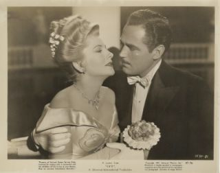 Ivy Orig Still Noir Joan Fontaine Patric Knowles Nice C U