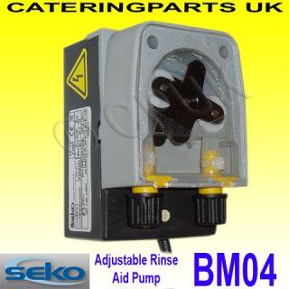Seko BM04 Peristaltic Rinse Aid Chemical Dosing Pump