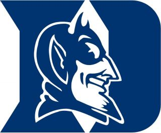 Duke University Blue Devils Super Sized Logo Decal