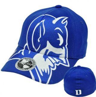 NCAA Top of The World Duke Blue Devils Hat Cap Stretch One Size Flex