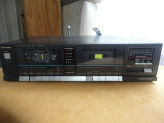Technics Stereo Double Cassette Deck RS D224W