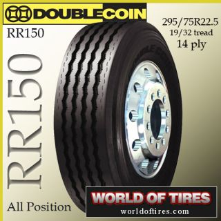 tires Double Coin RR150 295 75r22 5 semi truck tires 22 5 truck tires