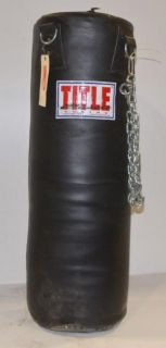 Title Classic Double End Boxing Punch Bag 90 Lb
