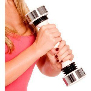 Womens Shake Weight 3lbs Weights Gym Exercise Dumbbell Dumbell