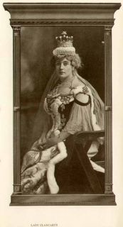IMAGE OF THE LOVELY LADY CLANCARTY   WIFE OF LORD DUNLO OF IRELAND
