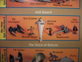 LOW PRICE FREE SHIP Star Wars Micro Machines Jedi Search Vol. 1 Jedi