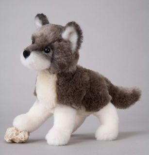 Douglas Toy Plush 7 Ashes Gray Wolf Stuffed New