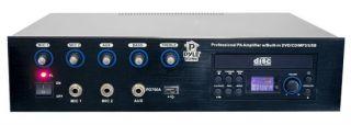 Pyle Pro PA Amplifier 700 CD DVD Player USB Port PD750A