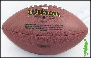 Doug Martin Signed Auto Wilson NFL Football Ball Bucs Buccaneers Boise