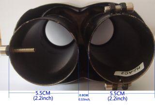 BMW ACS 2 INLET E36 E39 M5 E87 Z3 stainless steel EXHAUST MUFFLER TIP