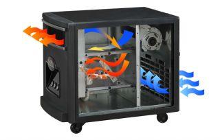 DURAFLAME Portable Infrared Heater w/ Remote Black Finish FREE SHIP NO