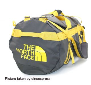 New The North Face Base Camp Duffel Bag Gray Size XL