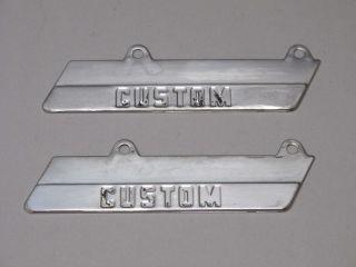 1954 1955 1956 Dodge Custom Pickup Town Panel Truck Badges Emblems 54