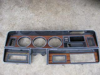DODGE INSTRUMENT CLUSTER BEZEL TRIM 1981 1989 RAM CHARGER D100 D150