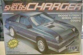 MPC 1986 Dodge Shelby Charger 86 Plastic Model Car Kit