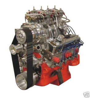 Blown Chevy SBC 427 Pro Street Turn Key Crate Engine