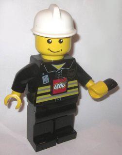 Lego Hand Crank Dynamo Flashlight 7.5 Lego Man Fireman Legoman