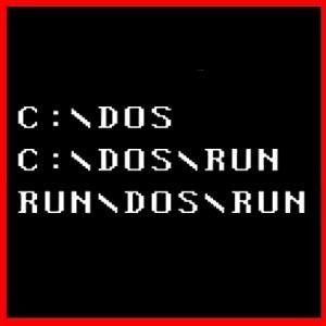 Run Dos Run Geek PC Funny Computer Programmer T Shirt