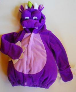 DRAGON HALLOWEEN COSTUME JACKET OLD NAVY 3 PURPLE