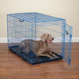 Crate Appeal Fashion Color Dog Crates Dazzling Pet Travel Crate Blue