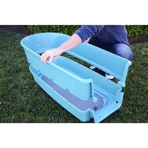 New Home Pet Grooming Booster Bath Dog Bath Washing Tub
