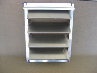 Aluminum Louvered Door Vents Kennel Dog Box Parts Trailer