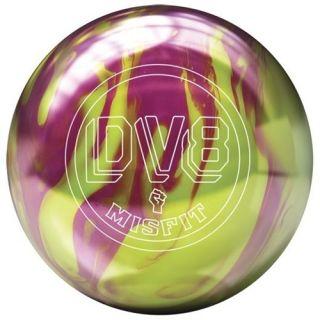 DV8 Misfit Yel Magenta Bowling Ball 12 lb Brand New in Box